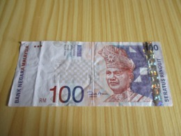 Malaysie.Billet 100 Ringgit. - Malaysia