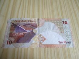 Qatar.Billet 10 Riyals. - Qatar