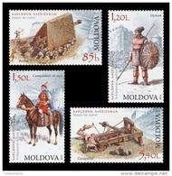 Moldova 2012 Mih. 795/98 Ancient Weapon MNH ** - Moldavia