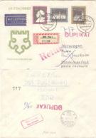 DDR 1317/19 Auf Retour-R-Brief Nach Norwegen - [6] République Démocratique