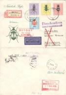 DDR 1411/13,1416 Auf  Retour-R-Brief Nach Schweden - [6] République Démocratique