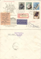 DDR 1468,1470,1472/73 Auf  Retour-R-Brief Nach Italien - [6] République Démocratique