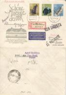 DDR 1469,1471,1473 Auf  Retour-R-Brief Nach Italien - [6] République Démocratique