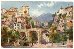 MONACO : MONTE CARLO - L'EGLISE DE SAINTE DEVOTE (TUCK'S OILETTE) - Monte-Carlo