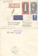 DDR 1489/90,937 Auf Retour-R-Brief In Die Schweiz - [6] République Démocratique