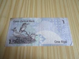 Qatar.Billet 1 Riyal. - Qatar