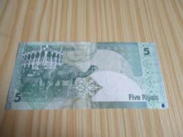 Qatar.Billet 5 Riyals. - Qatar