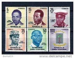 Guinea Ecuatorial 1981. Edifil 18-23 ** MNH. - Guinea Ecuatorial