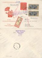 DDR 1100/01 Auf Retour-R-FDC Nach Bulgarien - FDC: Enveloppes