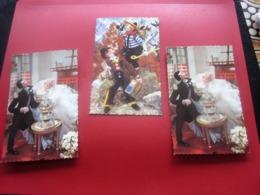 LOT 3 Cartes Postales CPSM Thème DOLL POUPÉES ROLDAN  CPA POST CARD PHOTOCHROME Glacés 1870 - Jeux Et Jouets
