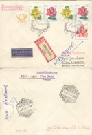 DDR 1778/80 Auf Retour-R-Brief Nach Spanisch Sahara - [6] République Démocratique