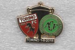1-8-2018 Torino Chapecoense Brasile Calcio Granata Distintivi Pins FootBall Toro Soccer Spilla - Calcio