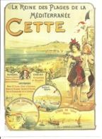 Ville De Cette Sète Hérault Joutes Station Zoologique Régates Kursaal Casino Mont St Clair Reine Des Plages Plage - Vieux Papiers