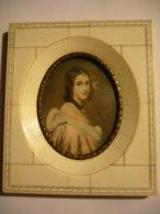 Miniatur-Malerei Auf Elfenbein - Lady Jane Ashine N. Stieler (787) - Sonstige