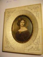 Miniatur-Malerei Auf Elfenbein - Anna Kauber N. Stieler Sign (788) - Sonstige