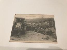 Camp De Brasschaet - Brasschaat - Apres Le Tire . On Attache La Pièce Au Tracteur 1929 - Brasschaat