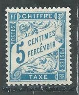France Timbre-taxe YT N°28 Duval Neuf/charnière * - 1859-1955 Neufs