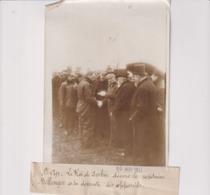 ST CYR LE ROI DE SERBIE DECORE CAPITAINE BELLENGER  18*13CM Maurice-Louis BRANGER PARÍS (1874-1950) - Aviación