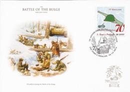 S.Tomé   2014 - FDC - Battle Of The Bulge / Ardennes - Seconda Guerra Mondiale