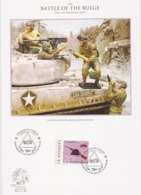 Canouan   2014 - FDC - Battle Of The Bulge / Ardennes - Seconda Guerra Mondiale