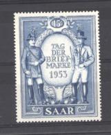 Sarre  :  Yv  321  ** - 1947-56 Protectorate