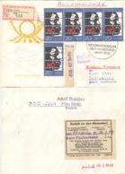 DDR 5x2369 Auf Retour-R-Brief Nach Simbabwe - Covers & Documents