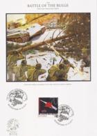 Guyana  2014 - FDC - Battle Of The Bulge / Ardennes - Seconda Guerra Mondiale