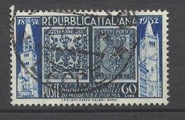 Italie      N° 628       B/TB     Timbre De Parme Et Modène           Soldè à Moins De 20   %      ! ! ! - 1946-60: Usados
