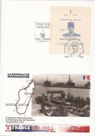 Rwanda  2014 -  FDC - Charles De Gaulle + La Bataille De Madagascar - WO2