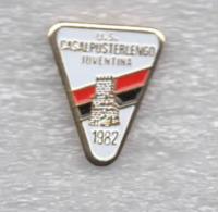 3/3 U.S. Casalpusterlengo Juventina Calcio Distintivi FootBall Soccer Spilla Pins  Italy Lombardia Lodi - Calcio