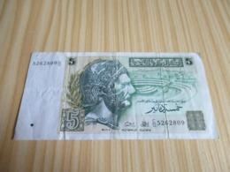 Tunisie.Billet 5 Dinars. - Tunisia