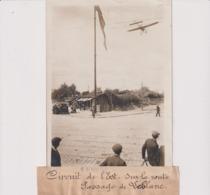 CIRCUIT DE L'EST SUR LA ROUTE PASSAGE DE LEBLANC 18*13CM Maurice-Louis BRANGER PARÍS (1874-1950) - Aviación