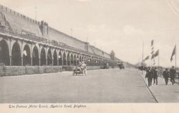 *** SUSSEX ***   The Famous Motor Track Madeira Road BRIGHTON  - Unused TTB - Brighton