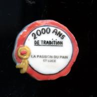 """FEVE - FEVES - PERSO  """"2000 ANS DE TRADITION - LA PASSION DU PAIN - SAINTE-LUCE (44) - Fèves"""