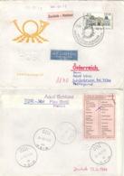 DDR 2828 Auf Retour-Brief Nach Österreich - Briefe U. Dokumente