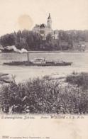 Wallsee * Dampfer, Schiffe, Schloss * Österreich * AK728 - Amstetten