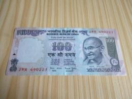 Inde.Billet 100 Roupies. - India