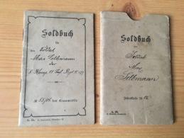 Rare Soldbuch Ww1 Militaria Allemand 14-18 - 1914-18