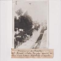 MANOEUVRES DE PICARDIE MÉNARD BIPLAN FARMAN BATTERIE D'ARTILLERIE MARCHE 18*13CM Maurice-Louis BRANGER PARÍS (1874-1950) - Aviación