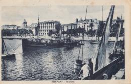 TRAPANI-MARINA-CARTOLINA VIAGGIATA IL 9-4-1930 - Trapani