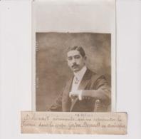 DUBONNET AÉRONAUTE REPRÉSENTER FRANCE COUPE GORDON BENNETT AMERIQUE  18*13CM Maurice-Louis BRANGER PARÍS (1874-1950) - Aviación