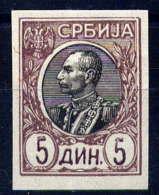 SERBIE - 92ND** - PIERRE 1er KARAGEORGEVICH - Serbie