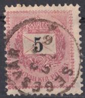 UNGHERIA - MAGYAR - HONGRIE - 1901 - Yvert 26 Usato Con Timbro Di SEGESVAR (Romania). - Ungheria