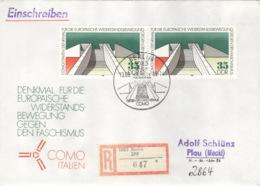 DDR 2x3196 Auf R-FDC - FDC: Enveloppes