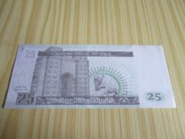 Iraq.Billet 25  Dinars. - Iraq