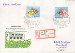 DDR 3297/98 Auf R-FDC - FDC: Enveloppes