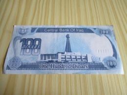 Iraq.Billet 100  Dinars. - Iraq