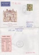 DDR 3318 Auf Retour-Brief Nach Österreich - Briefe U. Dokumente