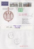 DDR 3338/396,2484 Auf Retour-Brief Nach Österreich - Briefe U. Dokumente