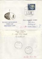 DDR 3361 Auf Retour-Brief Nach Österreich - Briefe U. Dokumente